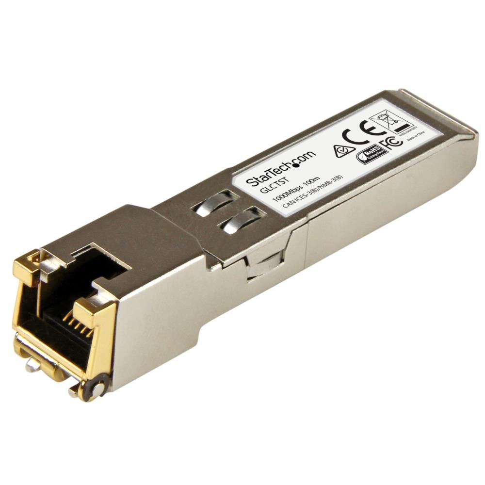 SFPモジュール Cisco製GLC-T互換 1000BASE-T準拠RJ45銅線トランシーバ GLCTST