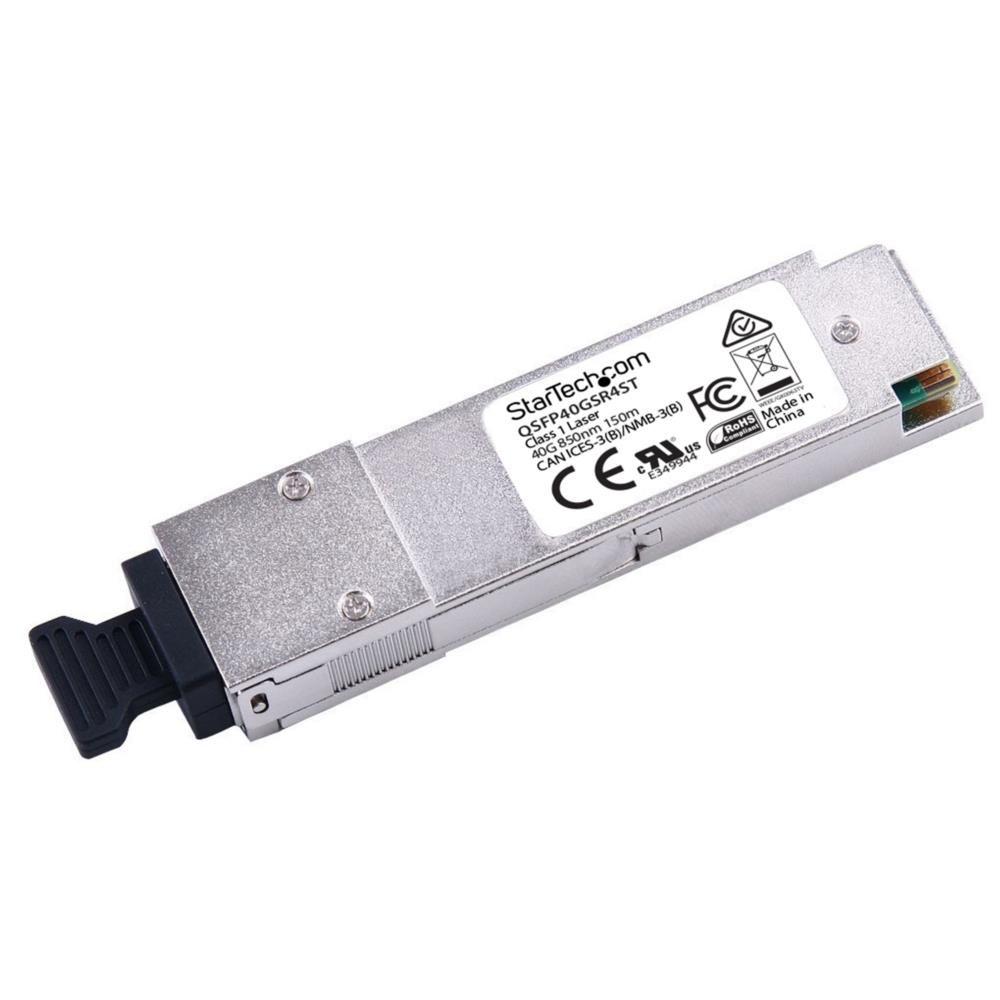 QSFP+モジュール Cisco製QSFP-40G-SR4互換 40GBASE-SR4準拠光トランシーバ QSFP40GSR4ST