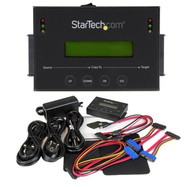スタンドアローン2.5/3.5インチSATA HDD/SSD対応デュプリケーター イレーサー 1対1(1:1)対応コピーマシン機 SATDUP11IMG