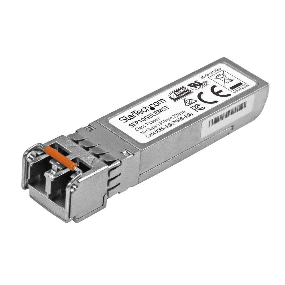 SFP+モジュール 10GBASE-LRM準拠 10Gbps 220m MSA準拠光トランシーバ SFP10GBLRMST