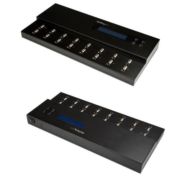 スタンドアローン型 1対15 USBデュプリケータ―(コピーマシン) USBメモリ/フラッシュドライブ対応 USBDUPE115