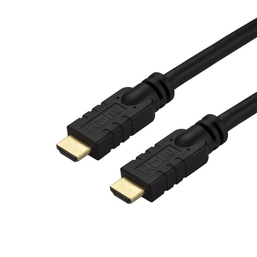 ハイスピードHDMIアクティブケーブル 10m 信号増幅回路内蔵 CL2定格 4K/60Hz 4K2K解像度 ブラック HD2MM10MA