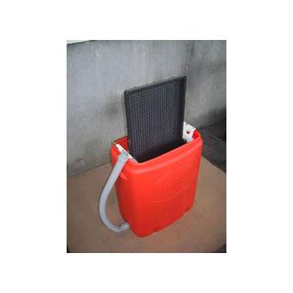 【送料込み】 手動式育苗箱洗浄機 クリーンクリーナー オギハラ工業
