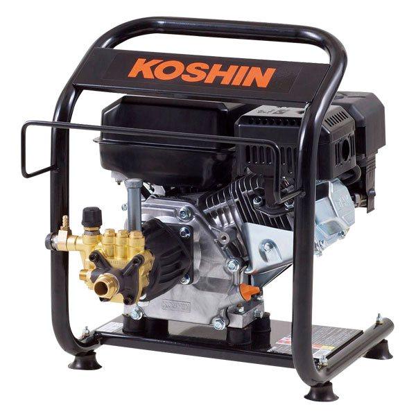 【キャッシュレス5%還元】 エンジン高圧洗浄機 JCE-1408U 工進