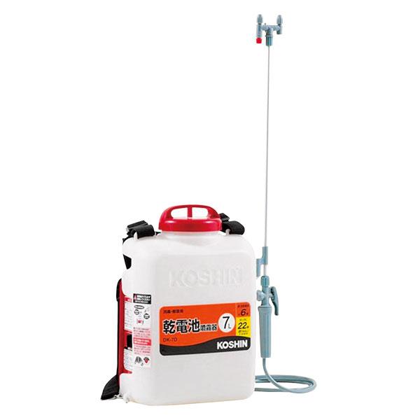 【送料込】 電池式噴霧器 DK-7D 7L背負い式