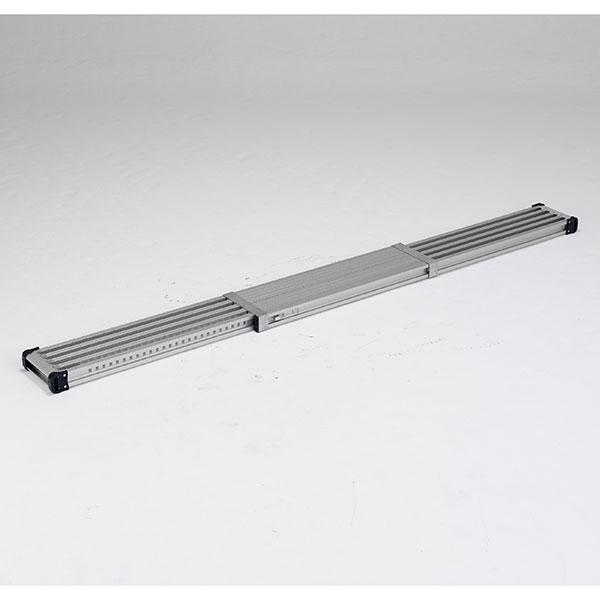 【キャッシュレス5%還元】 【メーカー直送】 伸縮式足場板3.6m VSS360H アルインコ