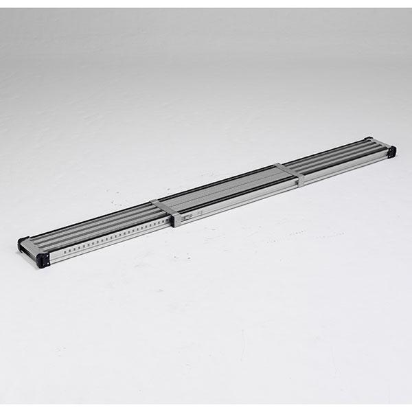 【メーカー直送】 滑り止め付伸縮式足場板2.4m VSSR240H アルインコ