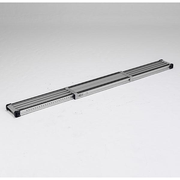 【メーカー直送】 滑り止め付伸縮式足場板2.7m VSSR270H アルインコ