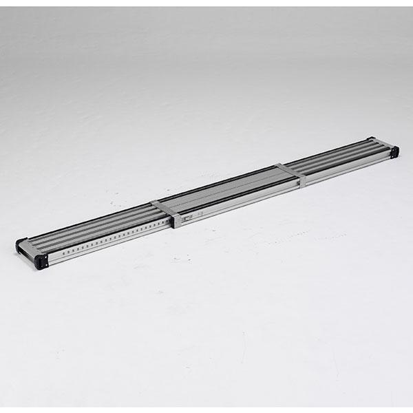 【メーカー直送】 滑り止め付伸縮式足場板3.0m VSSR300H アルインコ