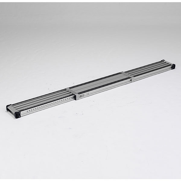 【メーカー直送】 滑り止め付伸縮式足場板3.6m VSSR360H アルインコ