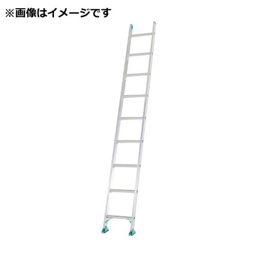 【メーカー直送】 アルミ一連はしご3.7m AX37SE アルインコ