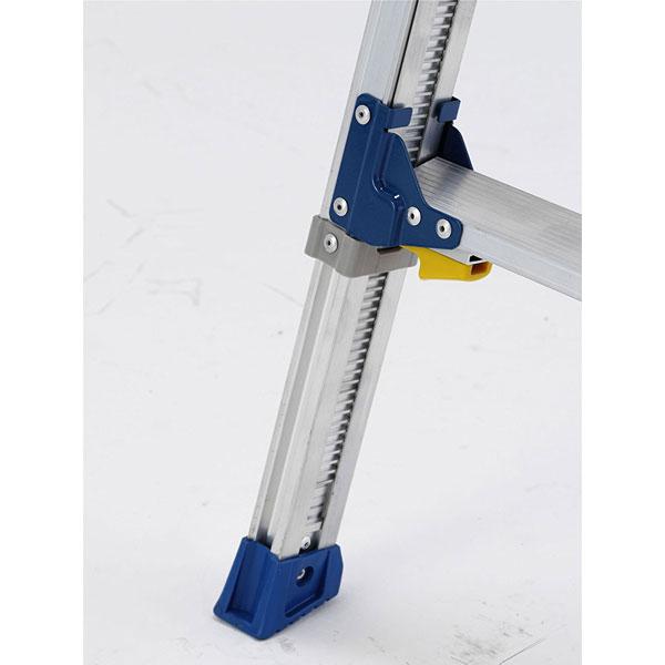 伸縮脚付はしご兼用脚立90cm PRE90FX アルインコ 【メーカー直送】
