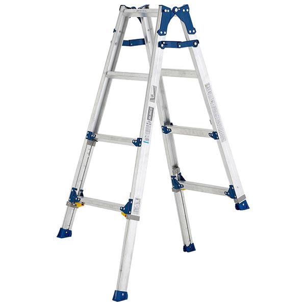 【メーカー直送】 伸縮脚付はしご兼用脚立120cm PRE120FX アルインコ