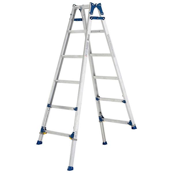 【メーカー直送】 伸縮脚付はしご兼用脚立180cm PRE180FX アルインコ