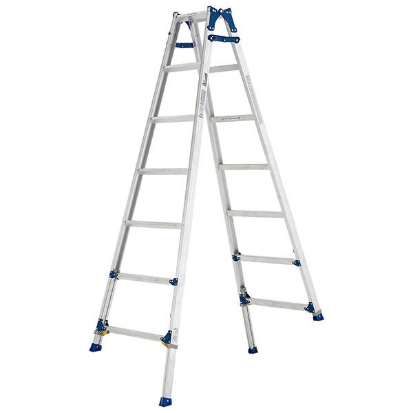 【メーカー直送】 伸縮脚付はしご兼用脚立210cm PRE210FX アルインコ