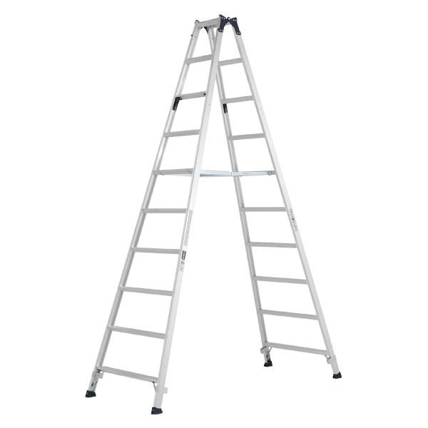 【メーカー直送】 ステップ幅広専用脚立3.0m MXB300F アルインコ