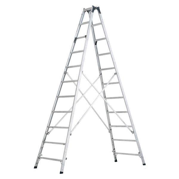 【メーカー直送】 ステップ幅広専用脚立3.3m MXB330F アルインコ