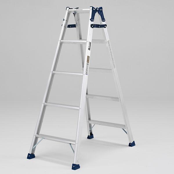 【メーカー直送】 ステップ幅広兼用脚立150cm MXA150W アルインコ