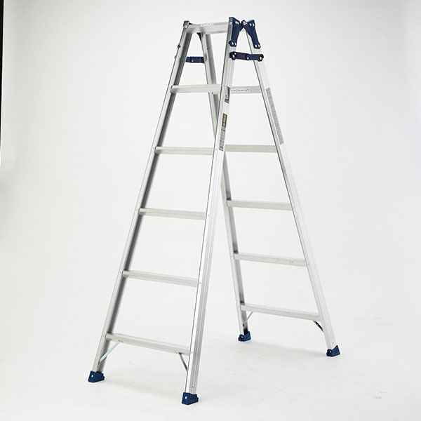 【メーカー直送】 ステップ幅広兼用脚立180cm MXA180W アルインコ