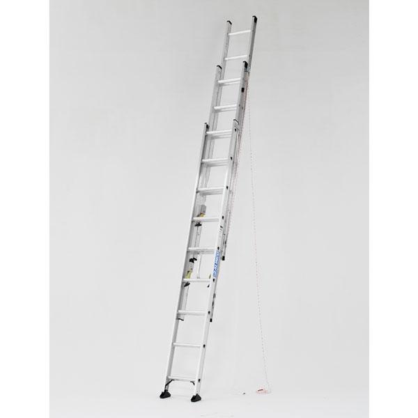 【メーカー直送】 アルミ三連はしご6.3m CX3-63 アルインコ