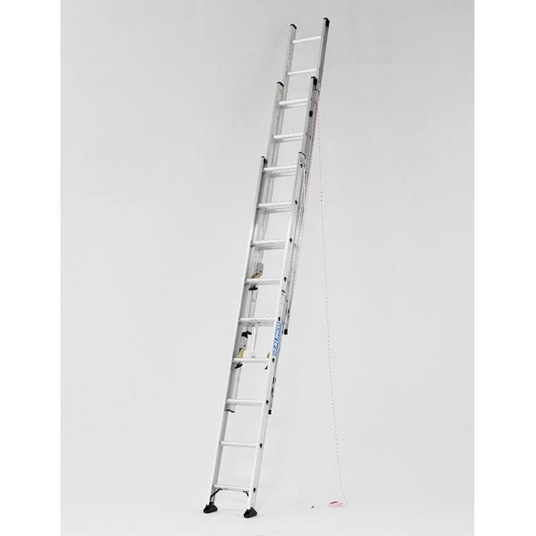 【メーカー直送】 アルミ三連はしご7.3m CX3-73 アルインコ