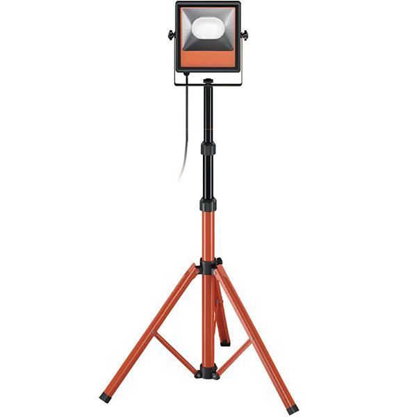 【キャッシュレス5%還元】 LED 投光器 作業灯 三脚付きスタンドライト 防雨型 屋内・屋外兼用 50W 5000lm アイリスオーヤマ