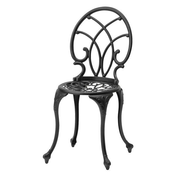 【メーカー直送】 ティエラ チェアー ブラック タカショー ガーデンチェア ガーデンファニチャー 庭 椅子 エクステリア 屋外
