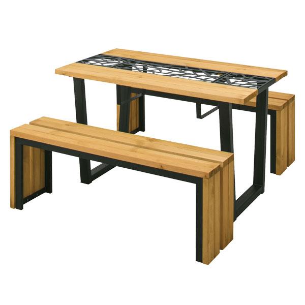 【メーカー直送】 リバティ ピクニックテーブルセット タカショー ガーデンファニチャー 庭 エクステリア 屋外