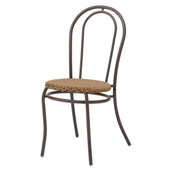 【メーカー直送】 プラハ カフェチェアー 2脚セット タカショー ガーデンファニチャー 庭 椅子 エクステリア 屋外