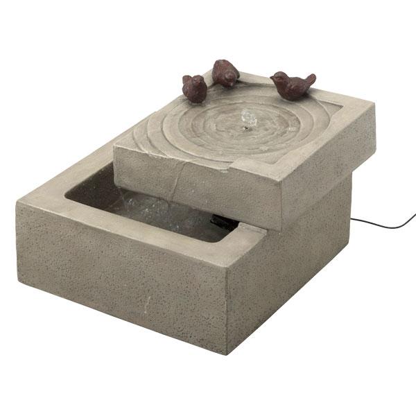 【メーカー直送】 ソーラーファウンテン バードオアシス タカショー ガーデン 庭 屋外 水 噴水