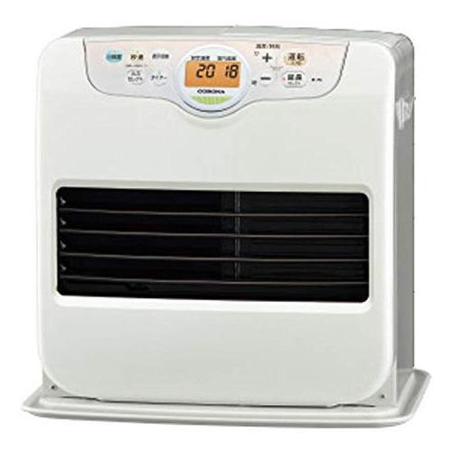 【キャッシュレス5%還元】 コロナ 石油ファンヒーター Gシリーズ シェルホワイト(W) FH-G5719BY 暖房器具