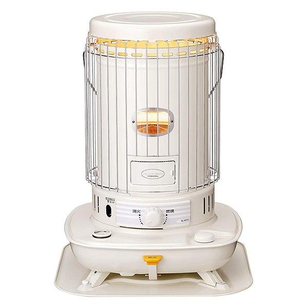 【送料込み】 コロナ 石油ストーブ 対流型 (木造17畳まで/コンクリート23畳まで) 耐震自動消化装置付き ホワイト SL-6619(W)