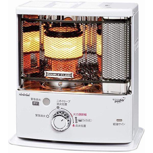 【送料込み】 トヨトミ 石油ストーブ ダブルクリーン RC-S280(W) (木造7畳まで/コンクリート10畳まで) 日本製 ホワイト
