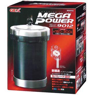 【送料込】 メガパワー 9012 水槽用フィルター ろ過