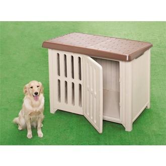 【送料込】 ボブハウス 1200ブラウンベージュ 犬小屋 犬舎 ドッグハウス