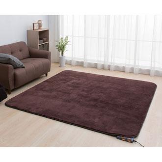 【送料込み】 室温センサー付ホットカーペット2畳用 SHC2-M19 暖房