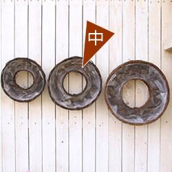 ハンギングリース 寄せ植え ハンギングバスケット 年間定番 ドーナツ プランター 籐カゴのみ中 花苗で作る 単品 フラワーリース クリスマスリース ビオラリース 8023 ハンギング 壁掛け鉢 アウトレット