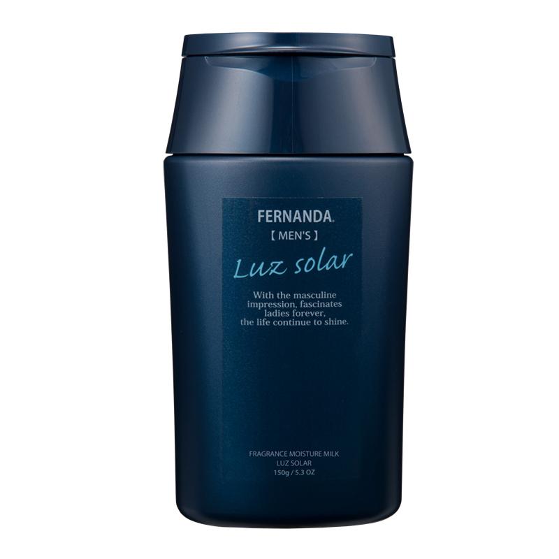 抜けるように澄んだ青さを連想させるマリンの透明感と、カシス・アプリコットが織りなす、輝くように爽やかでセクシーな香り 【大人気・再入荷メール便OK】FERNANDA(フェルナンダ) フレグランス モイスチャーミルク ルーズソーラー 150g Fragrance Body Mist Luz Solar メンズ ポイント 消化 男性