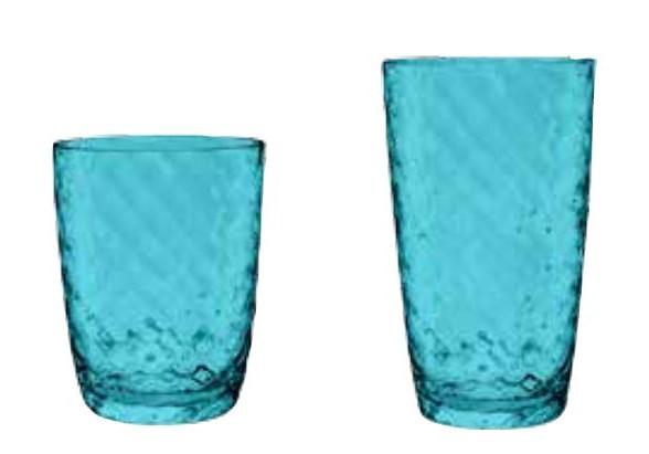 【PAZADAJAA】アズーラ タンブラー12点セット(アクア) タンブラー セット コップ 割れないコップ 割れないグラス 割れない食器 アクリル カップ 軽量 丈夫 食洗機対応 業務用 まとめ買い シンプル おしゃれ