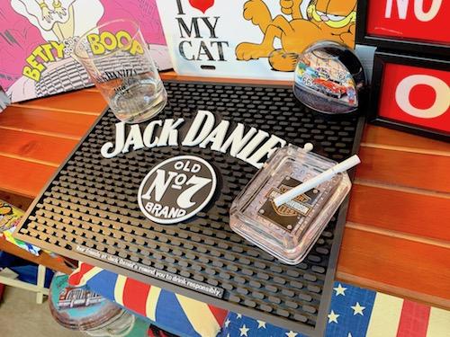 アメリカン雑貨 BAR MAT JACK DANIELS バーマット WIDE コースター ジャックダニエル バー カーアクセサリー グッズ 車内 店舗 新作 ディスプレイ ガレージ パブ 往復送料無料
