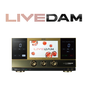カラオケ 本体【中古美品】【送料無料】第一興商 LIVE DAM GOLD EDITION DAM-XG5000G