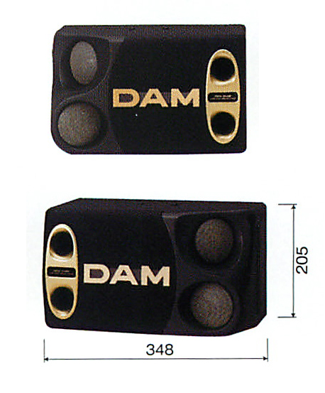 【新品】 【メーカー保証】 【送料無料】 DAM DDS-80 スピーカー 第一興商