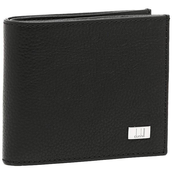 ダンヒル 財布 メンズ DUNHILL L2R932A AVORITIES アヴォリティーズ 2つ折財布 BLACK ブラック