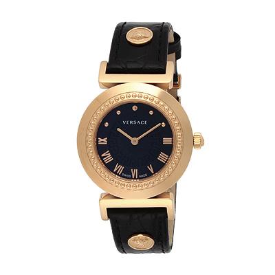 ヴェルサーチ 腕時計 VERSACE P5Q80D009S009 VANITY レディース時計 ブラック