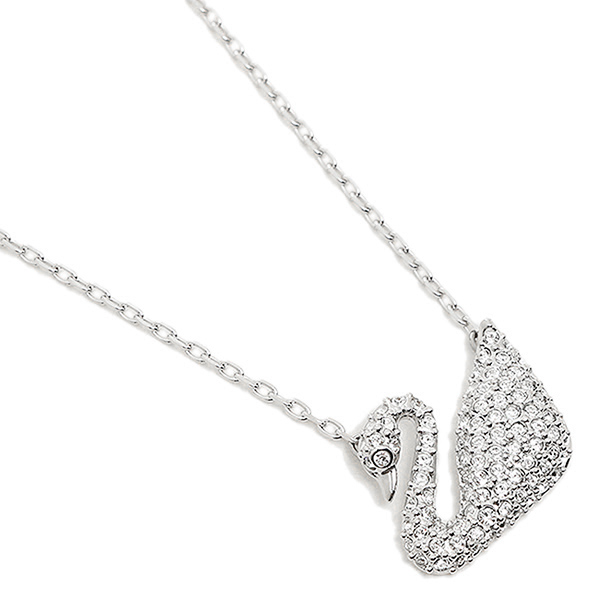 [Upon entry/p up to 20 times more! at least 10 times until the 20th, 9:59,  Swarovski necklace SWAROVSKI 5007735 Swan Swan pendant silver