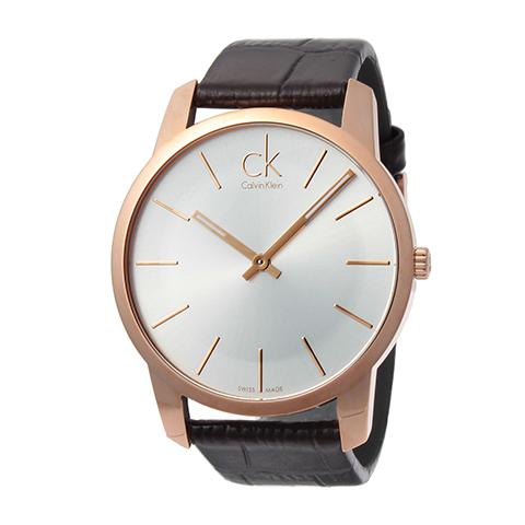 カルバンクライン 腕時計 メンズ CK Calvin Klein K.2G216.29 シティ 時計/ウォッチ シルバー