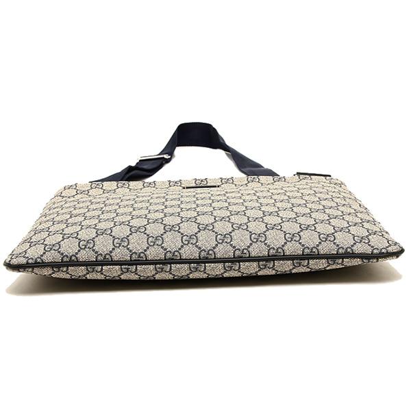 Gucci bag GUCCI 201446 KGDIN 4075 GG plus MESSENGER BAG shoulder bag BEIGE/BLUE