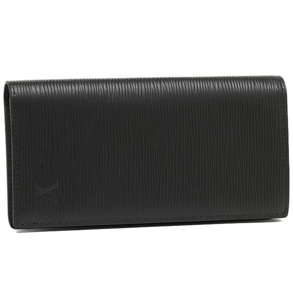 ルイヴィトン 財布 LOUIS VUITTON M60622 エピ ポルトフォイユ・ブラザ 長財布 ノワール