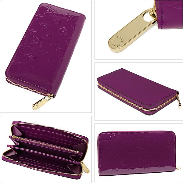 루이비통 지갑 LOUIS VUITTON M90140 ヴェルニ 기운 찬 ・ 지갑 지갑 보라