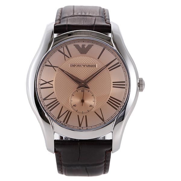 エンポリオアルマーニ 時計 メンズ EMPORIO ARMANI AR1704 クラシック 腕時計 ウォッチ ブラウン